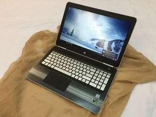 HP Pavilion 15 Core i7 6thgen NVIDIA GTX 960 8GBRAM 1TBHDD GAMING LAPTOP