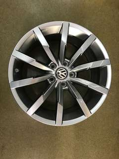 18 5x112 passat new car rim 1 set $800