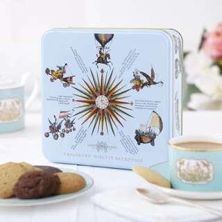 Explorers' Biscuit Selection Tin, 500g