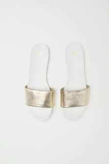 HnM Gold Sandal