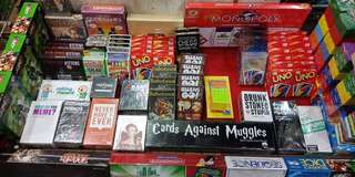 Card and Board Games for Sale (See details for the price of games)