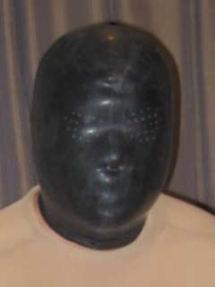 Latex Hood (Perforated Eyes)