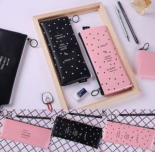 Black & Pink pencil case