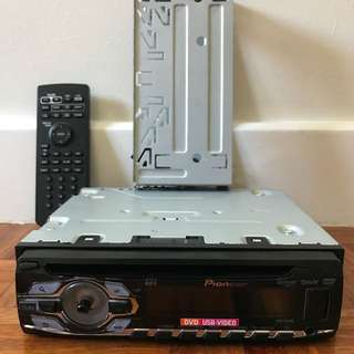 Pioneer DVH-345UB Single DIN Media Receiver