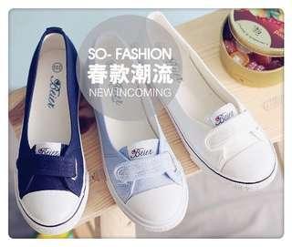 全新 休閒淺口帆布鞋 (預定)(Pre-sale)