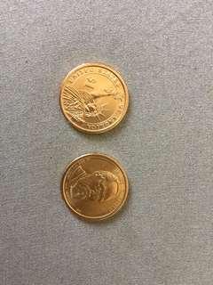 美金一圓硬幣