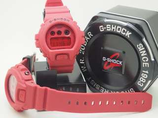 Dw6900 red watch