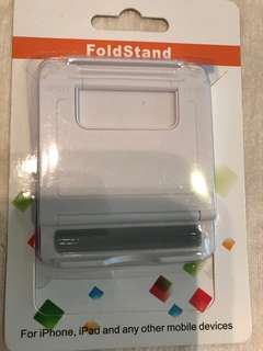 Fold stand for mobile devices