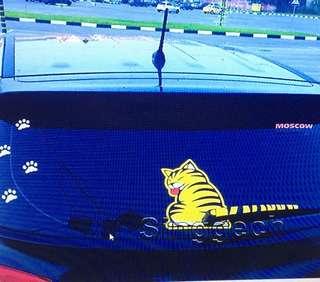 Preorder Cat design car rear windshield sticker