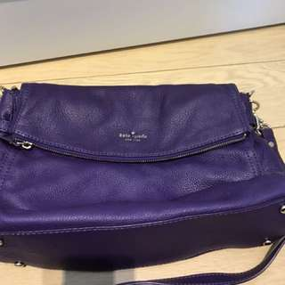 Authentic Kate Spade New York violet handbag