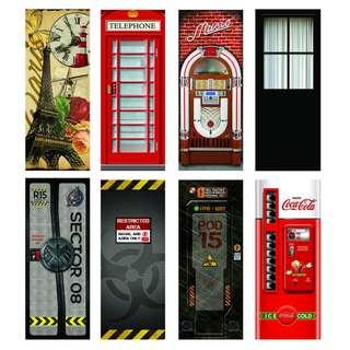 Door vinyl decal Promo!!