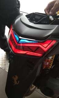 Led stop custom nmax