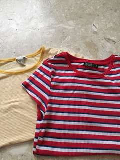striped tshirts!