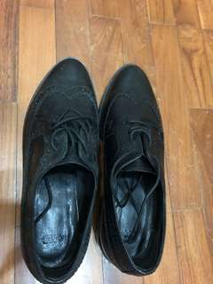 Black Shoes one time used
