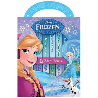 Disney Frozen 12 Book Blocks (My First Library)