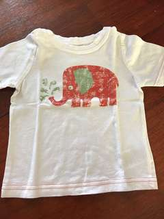 Mothercare elephant shirt 9-12 month
