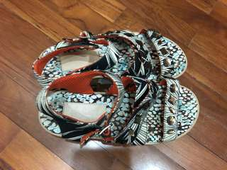 Sandals wedge