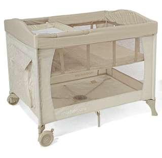 Mothercare bassinet playpen travel cot