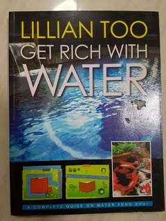 Geat Rich With Water Book by Lilian Too