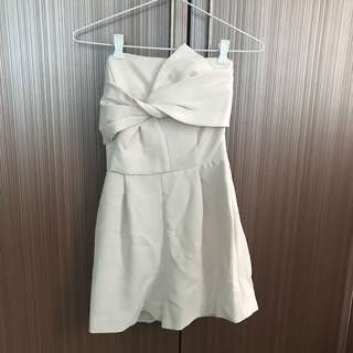 Topshop White Romper (with tag)