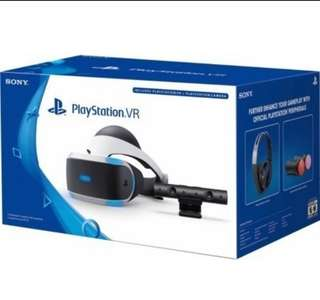 Playstation VR with Camera Version 2 (Games Included)
