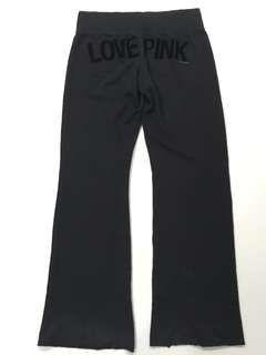Victoria's Secret PINK Authentic Black Sweat Pants