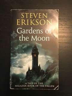 "3 Steven Erikson ""Malazan"" series novels"