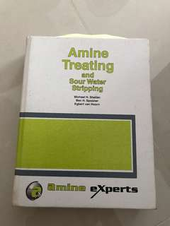 Amine treating by Mike Sheilan