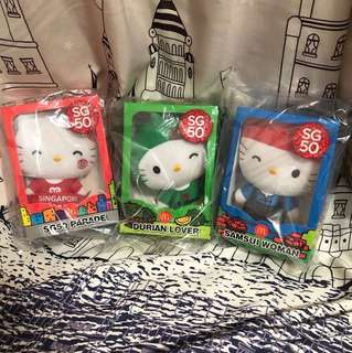 BNIB SG50 HELLO KITTY COLLECTIBLES