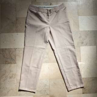 Brown formal pants