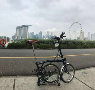 Brompton 6 speed M6R Tempest Blue