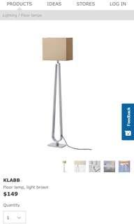 IKEA standing lamp (sales)