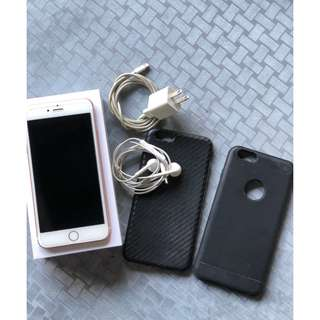 Preloved iPhone 6s Plus 64gb Rose Gold Globe-locked
