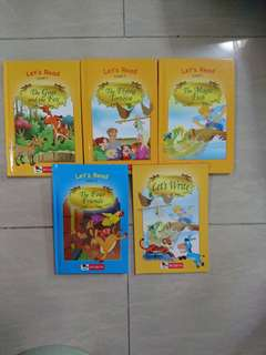 Let's Read level 1 series  for young kids