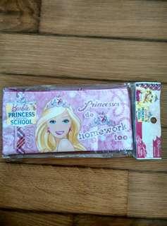 BNIP Barbie Princess Stationery Set