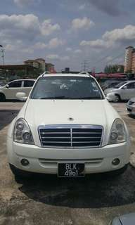Rexton 2.7 2009 Negotiable