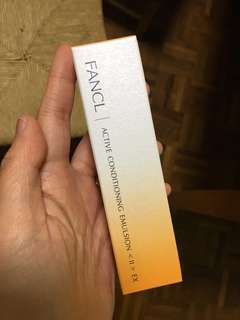 Fancl active conditioning emulsion Ex