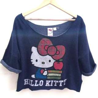 Crop Top Hello Kitty #ramadan50