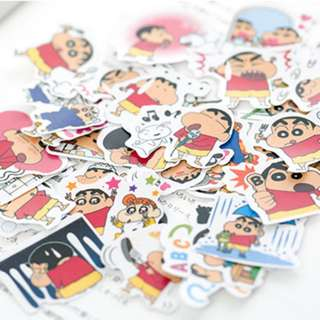 [Instocks] Crayon Shin Chan Stickers