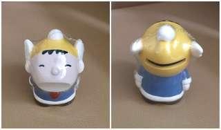 Sanrio Minna No Tabo 大口仔 1990 年 Puroland 陶瓷人形儲金箱 (Made in Japan) (** 只限北角地鐵站交收 **)