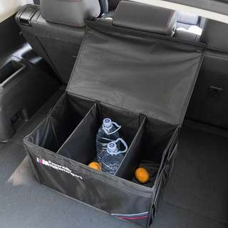 Car Boot Storage Box with Cover BMW
