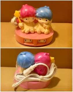 Sanrio Little Twin Stars 人形電拖板 (** 有變黃 **) (** 只限北角地鐵站交收 **)
