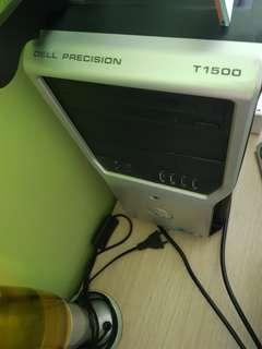Dell precision T1500 desktop (just cpu unit)