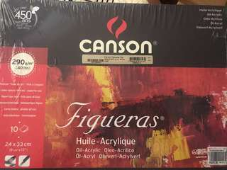 Canson Figueras Oil-Acrylic Pad