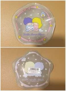 Sanrio Little Twin Stars 2004 年 玻璃碟 (直徑 5 吋) (全新未用過) (** 只限北角地鐵站交收 **)