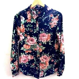 Brands Outlet Rope Floral Blouse