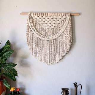 Macrame Wall Art Hanging / Rope Art / Knot Art / Fiber Art