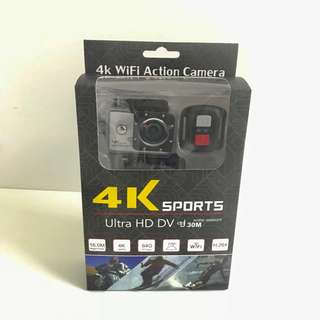 4K Wifi Waterproof 16MP Ultra HD Action Camera with remote