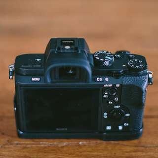 🔥 LIKE-NEW SONY A7ii A72 Full Frame FE Mirrorless Camera Better than Olympus E-M1ii E-M5 Canon 5D4 5D3 1D4 A7iii a7riii