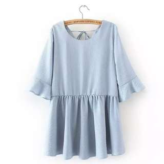 plus size baby doll top